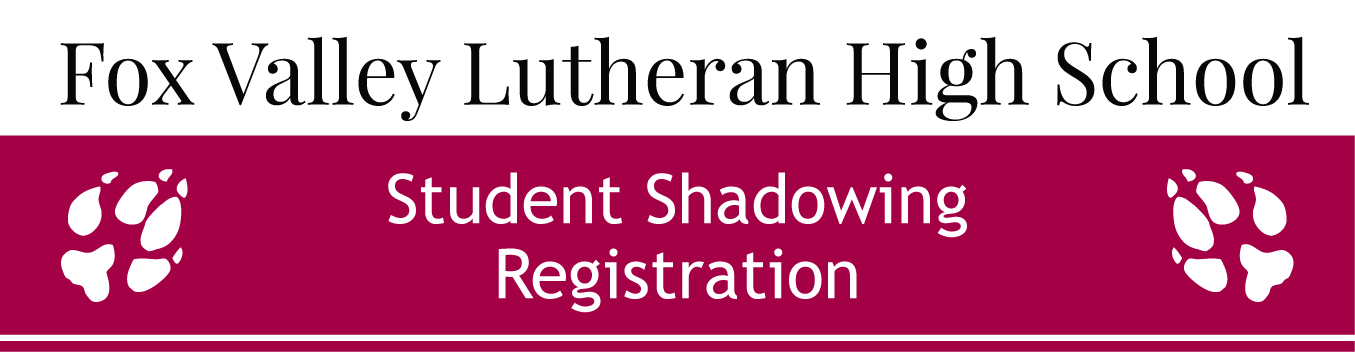 Shadowing Registration
